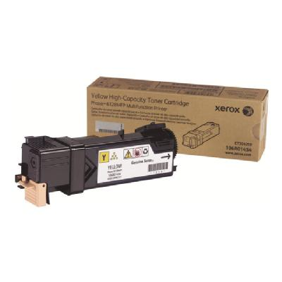 Xerox Phaser 6128MFP - yellow - original - toner cartridge 0 pages - Phaser 6128MFP aser 6128MFP