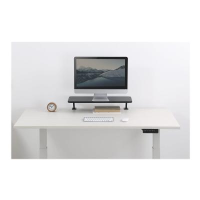 """StarTech.com Monitor Riser Stand - Clamp-on Monitor Shelf for Desk - Extra Wide 25.6"""" (65 cm) For up to 34"""" Monitors - Black (MNRISERCLMP) - mounting kit - for monitor XTRA WIDE"""