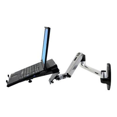Ergotron LX Wall Mount LCD Arm - mounting kit - for LCD display