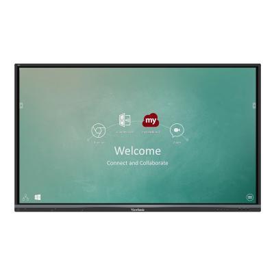 "ViewSonic ViewBoard IFP6550-M2 Interactive Flat Panel MDM Bundle 2 65"" Class (65"" viewable) LED display - 4K T"