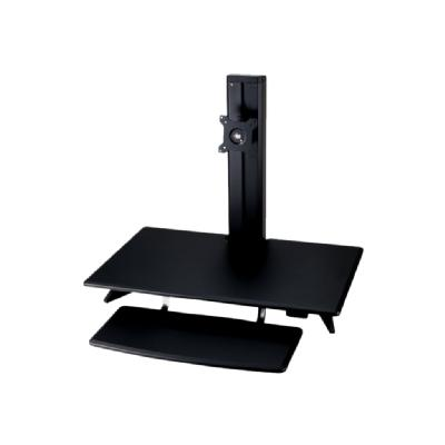 Amer AMRCP100 Sit-Stand Integrated Desk Workstation - stand ND MOUNT