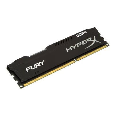 HyperX FURY - DDR4 - 8 GB: 2 x 4 GB - DIMM 288-pin DDR4  2666MHZ  CL15  1.2V  288 -pin DIMM  kit of 2