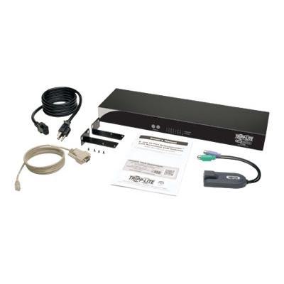 Tripp Lite 8-Port Cat5 KVM Switch PS2 to USB Input Adapter 1URM Rackmount - commutateur KVM - 8 ports - Montable sur rack  PERP