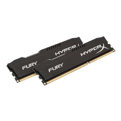 HyperX FURY - DDR3 - 8 GB: 2 x 4 GB - DIMM 240-pin DDR3  1866MHz  CL10  1.5V  240 -pin DIMM  kit of 2
