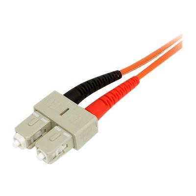 StarTech.com 3m Fiber Optic Cable - Multimode Duplex 50/125 - LSZH - LC/SC - OM2 - LC to SC Fiber Patch Cable - network cable - 3 m  CABL