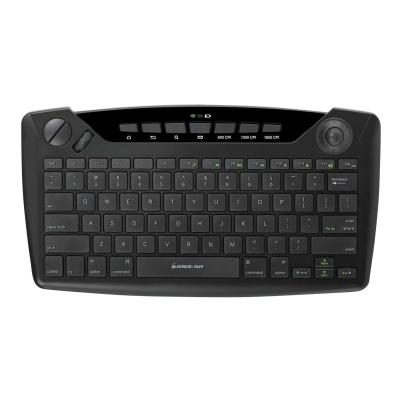 IOGEAR GKB635W - keyboard - with trackball, scroll wheel