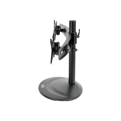 "Tripp Lite Dual Display TV Desk Mount Stand Swivel Tilt 10"" to 26"" Flat Screen Displays - stand (full-motion)  SCREEN"