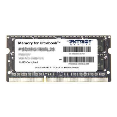 Patriot Memory for Ultrabook - DDR3L - 4 GB - SO-DIMM 204-pin