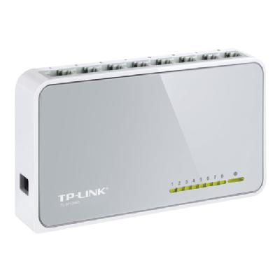 TP-Link TL-SF1008D 8-Port 10/100Mbps Desktop Switch - switch - 8 ports  PERP