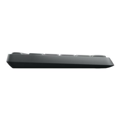 Logitech MK235 - keyboard and mouse set use (Grey)