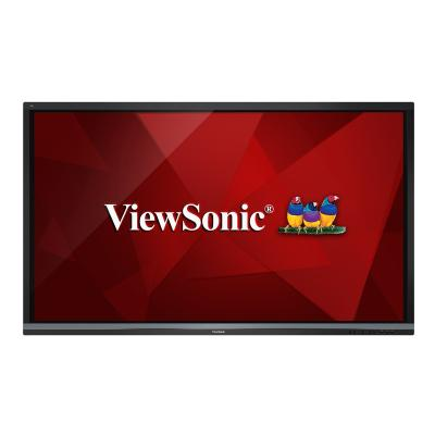 """ViewSonic ViewBoard IFP8650-E2 Interactive Flat Panel Education Bundle with Trolley Cart 86"""" Class (86"""" viewable) LED display - 4K B-STND-001"""