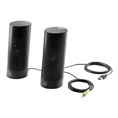 HP USB Business speakers v2 - speakers - for PC