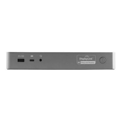 StarTech.com USB-C & USB-A Dock, Hybrid Universal Laptop Docking Station with 100W Power Delivery, Dual Monitor 4K 60Hz HDMI & DisplayPort, 4x USB 3.1 Gen 1 Hub, Gigabit Ethernet (GbE) - Hybrid USB Type-C Dock (DK30C2DPEP) - docking station - USB-C - 2 x HDMI, 2 x DP - GigE ocking Station for USB-C TB3 &  USB-A laptops w/ 2-