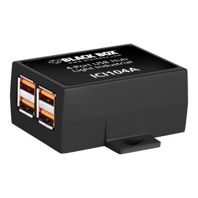 Black Box Industrial - hub - 4 ports  ICI104A