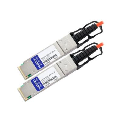 AddOn 40GBase-AOC direct attach cable - 15 m - TAA Compliant  CABL