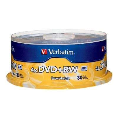 Verbatim - DVD+RW x 30 - 4.7 GB - storage media INDLE