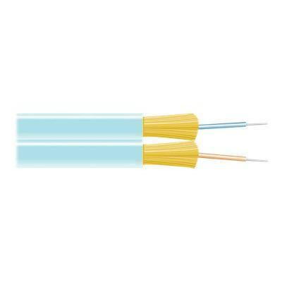 Black Box bulk cable - TAA Compliant - aqua  FIBER