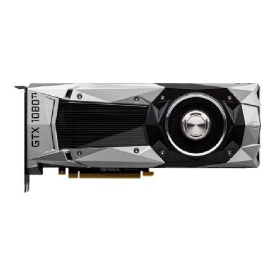 PNY GeForce GTX 1080 Ti - graphics card - GF GTX 1080 Ti - 11 GB  CTLR