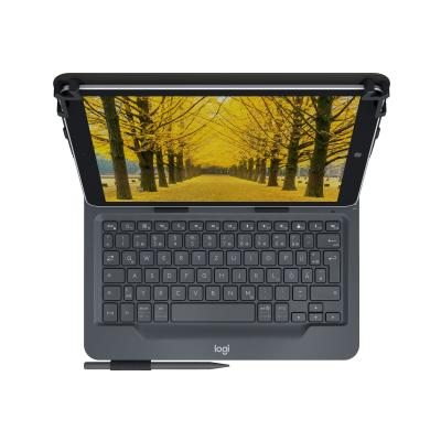 Logitech Universal Folio for 9-10 inch Tablets - keyboard and folio case blet Folio for most 9-10IN tab lets (IOS  Android