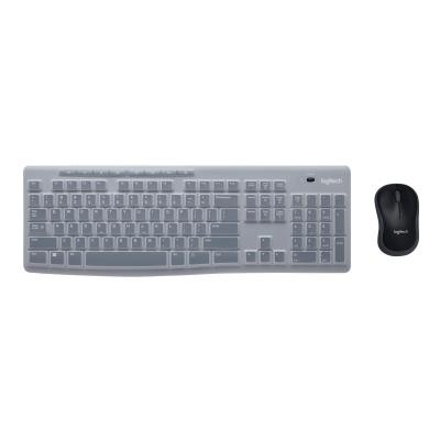 Logitech MK270 Wireless Combo for Education with Protective Keyboard Cover - keyboard and mouse set