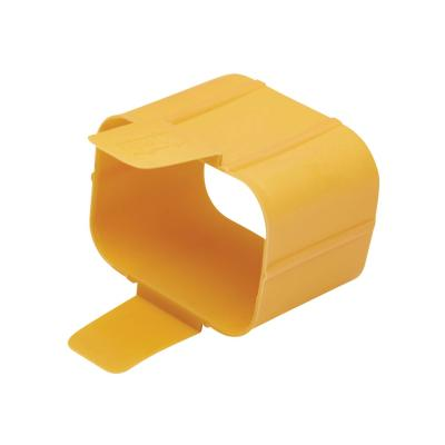 Tripp Lite Plug-Lock Inserts, C19 Power Cord to C20 Outlet, Yellow, 100 Pack cable removal lock  PERP