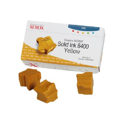 Xerox Phaser 8400 - 3 - yellow - solid inks RSTCK