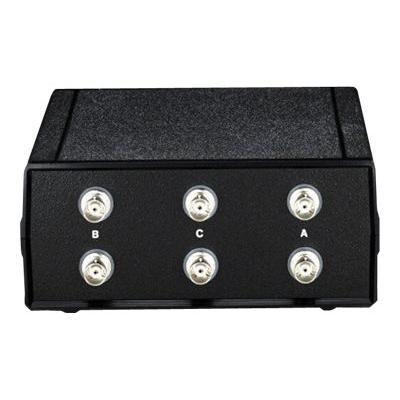 Black Box Coax Switch ABC (2 to 1) - switch - 2 ports  2 to 1 Manual Switch