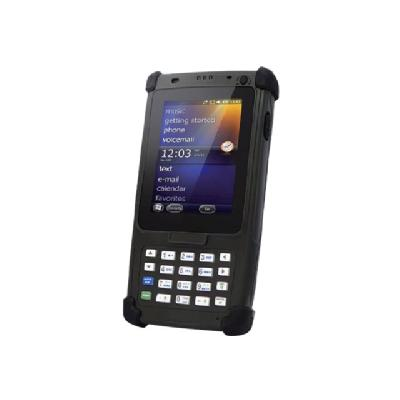 "Unitech PA820 - data collection terminal - Win Embedded Handheld 6.5 - 512 MB - 3.5"" e  WiFi  BT  Camera  Battery USB Cable  Hand Stra"