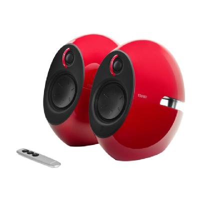Edifier E25 Luna Eclipse - speakers - wireless CLIPSE RED