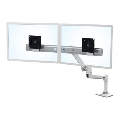 Ergotron LX Desk Dual Direct Arm - mounting kit - for 2 LCD displays  WHITE