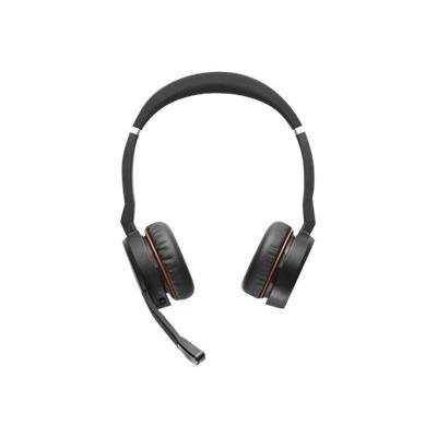 Jabra Evolve 75 MS Stereo - headset - with charging stand  ACCS
