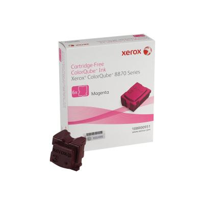 Xerox ColorQube 8870 - 6-pack - magenta - solid inks  (6 STICKS)  NORTH A