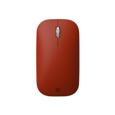 Microsoft Surface Mobile Mouse - mouse - Bluetooth 4.2 - poppy red  WRLS