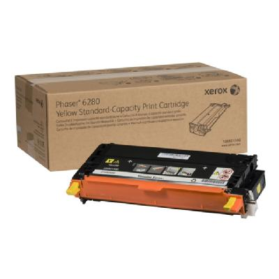 Xerox Phaser 6280 - yellow - original - toner cartridge 0 pages - Phaser 6280 haser 6280