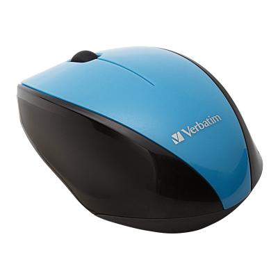 Verbatim Wireless Multi-Trac Blue LED - mouse - blue OPTICAL MOUSE - BLUE