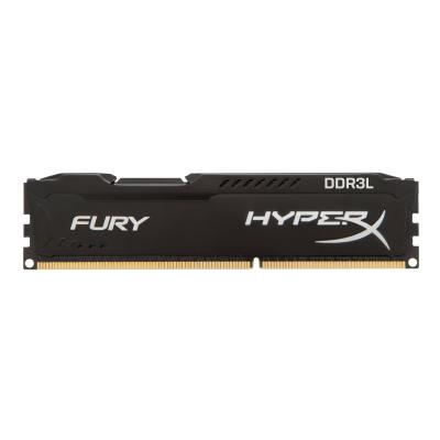 HyperX FURY - DDR3L - 8 GB: 2 x 4 GB - DIMM 240-pin - unbuffered FURY BLACK