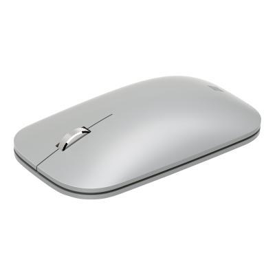 Microsoft Surface Mobile Mouse - mouse - Bluetooth 4.2 - platinum EN/XD/XX  PLATIN