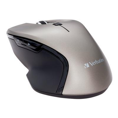 Verbatim USB-C Wireless Blue LED Mouse - mouse - 2.4 GHz - graphite  WRLS