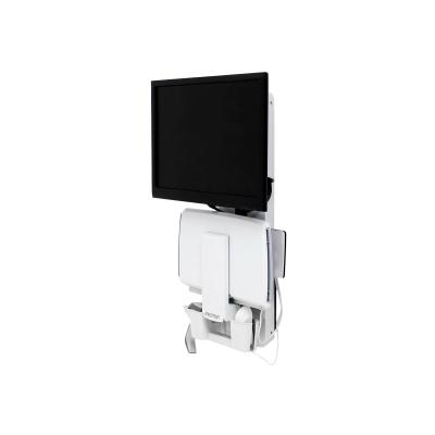 Ergotron StyleView Sit-Stand Vertical Lift, Patient Room - mounting kit - for LCD display / keyboard / mouse / barcode scanner ertical Lift Patient Room (whi te).Low-profile sit-