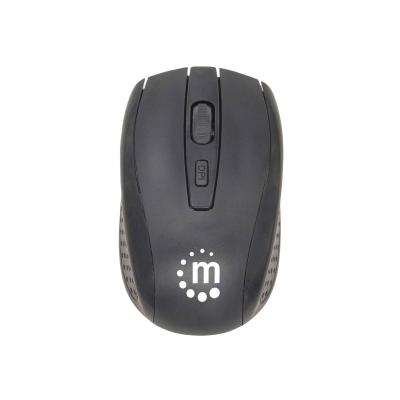 Manhattan - keyboard and mouse set - black ion for Both  Black  packaging  type: retail box
