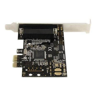 StarTech.com 2S1P PCI Express Serial Parallel Combo Card with Breakout Cable - parallel/serial adapter - PCIe - 2 ports -232 serial ports to your PC t hrough a PCI-Express