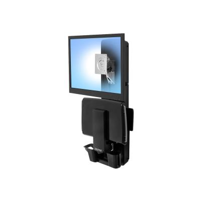Ergotron StyleView Sit-Stand Vertical Lift, Patient Room - mounting kit - for LCD display / keyboard / mouse / barcode scanner IENT ROOM (WHITE)