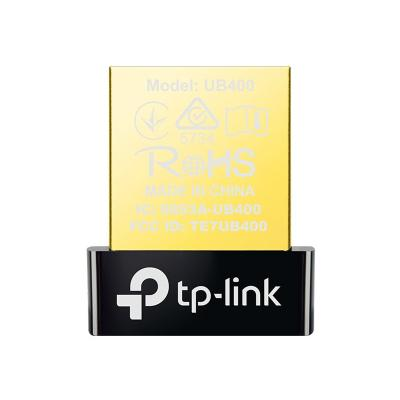 TP-Link UB400 - network adapter - USB 2.0   Supports Windows 10/8.1/8/7/ XP.