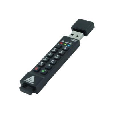 Apricorn Aegis Secure Key 3NX - USB flash drive - 4 GB T ENCRYPT FIPS 140-2