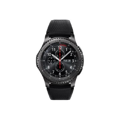Samsung Gear S3 Frontier - black - smart watch with band - black - 4 GB  ACCS