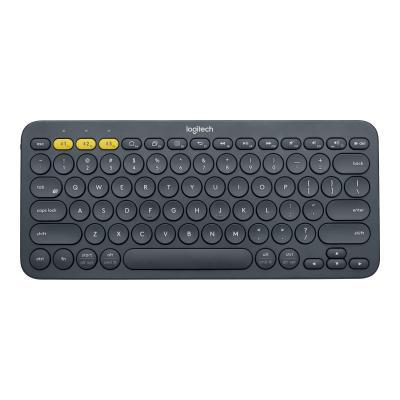 Logitech K380 Multi-Device Bluetooth Keyboard - keyboard - black etooth Keyboard (Dark Grey)