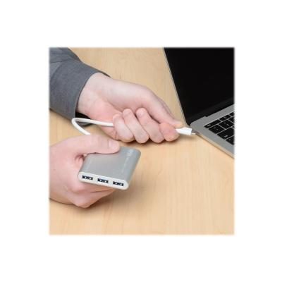 Tripp Lite 4-Port Portable USB 3.1 Gen 1 USB Type-C USB-C Hub - hub - 4 ports EPERP