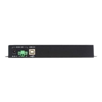 StarTech.com USB to Serial Adapter Hub - 4 Port - Wall Mount - COM Port Retention - Texas Instruments - USB to RS232 Adapter (ICUSB2324X) - serial adapter - USB - RS-232 x 4 ny laptop or computer with a U SB port - USB to Ser