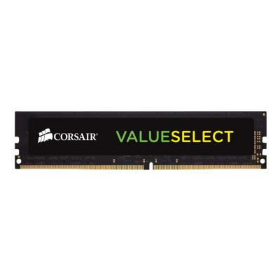 CORSAIR Value Select - DDR4 - 8 GB - DIMM 288-pin - unbuffered .20V  Unbuffered  15-15-15-36