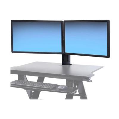 Ergotron WorkFit Dual Monitor Kit - mounting kit - for 2 LCD displays TRON